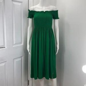 NWT Bardot from Nordstrom's size SML green dress